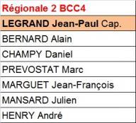 BCC 4 - Régionale 2