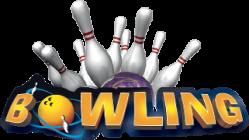 Bowling slide logo