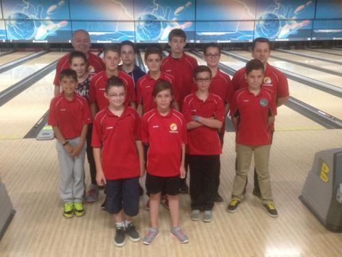11 jeunes de l'école - 4ème journée à Troyes