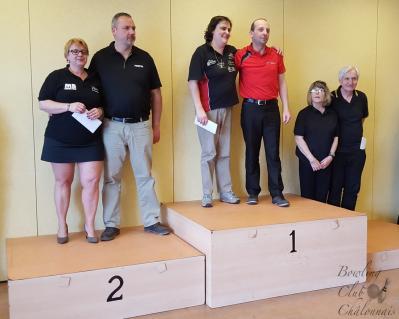 Podium 2 mixte hdp chalons 2016