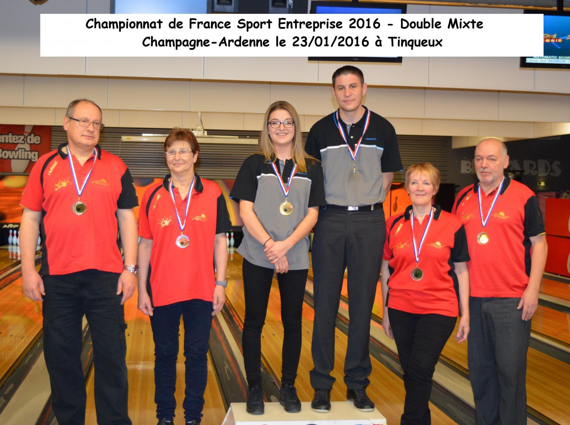 Championnat de France SE Doublette mixte 2016