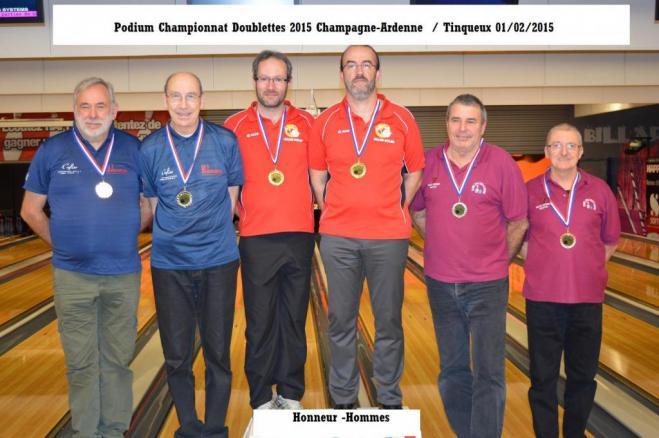 Podium honneur hommes regionale
