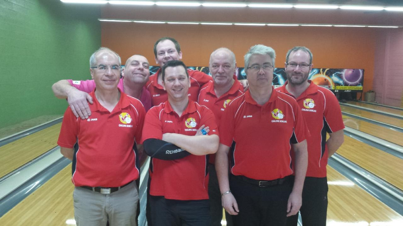 Equipe BCC 2 Hommes - régionale 1