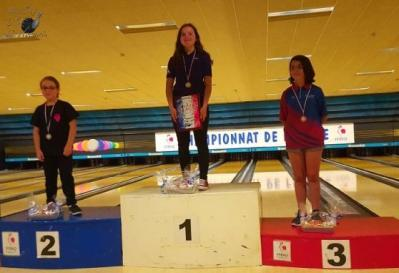 Chpt de france 2019 alice 3eme en benjamines 1