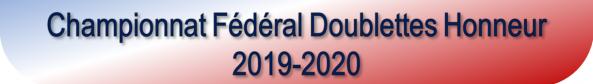 Doublettes honneur 2021