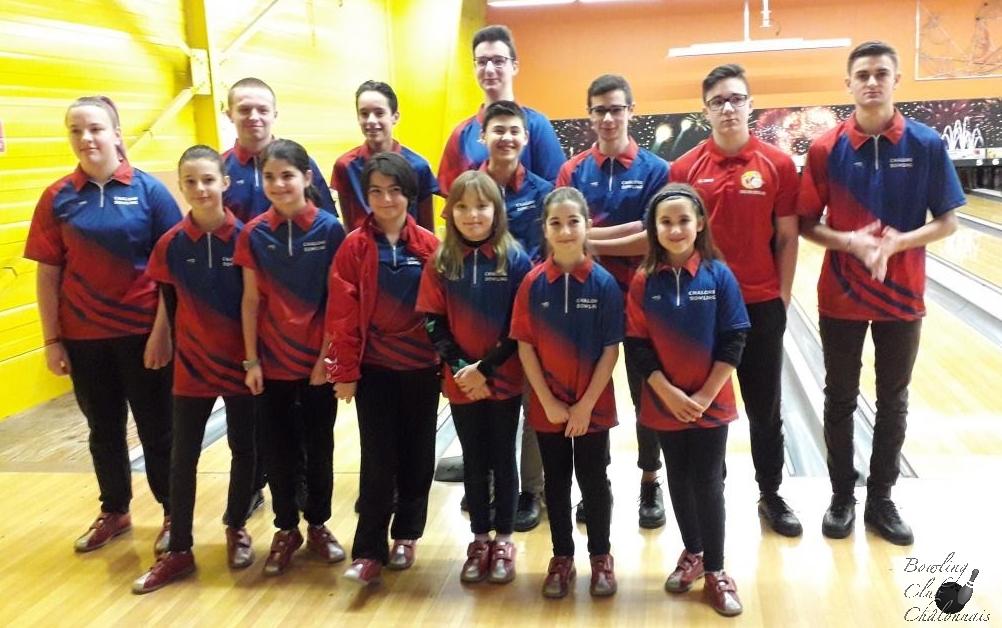 Championnat Jeunes - 3ème journée phase district à Châlons
